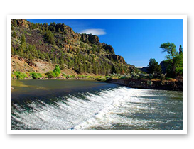 The Crooked River south of Prineville