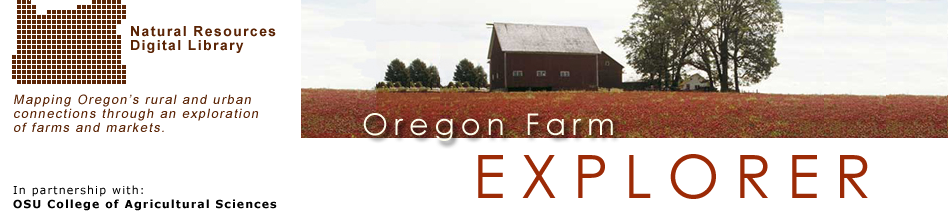 Farm Explorer: Banner image for Oregon Farm Explorer