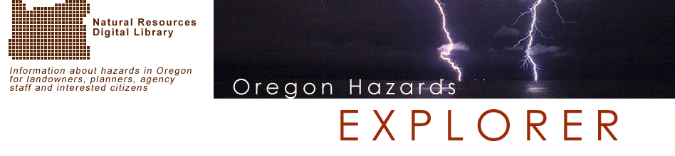 Oregon Hazards Explorer: Banner Image