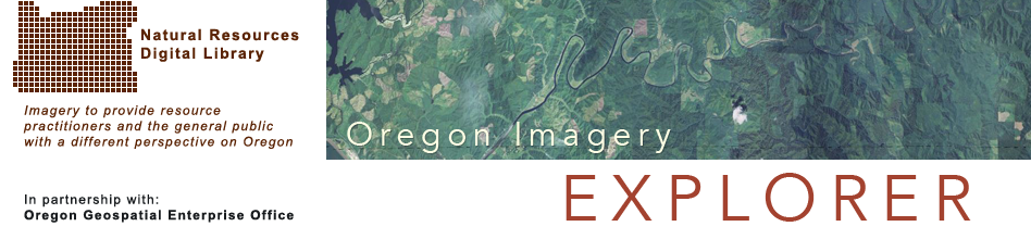 Oregon Imagery Explorer: Banner Image