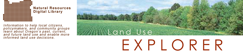 Land Use Explorer: Banner Image