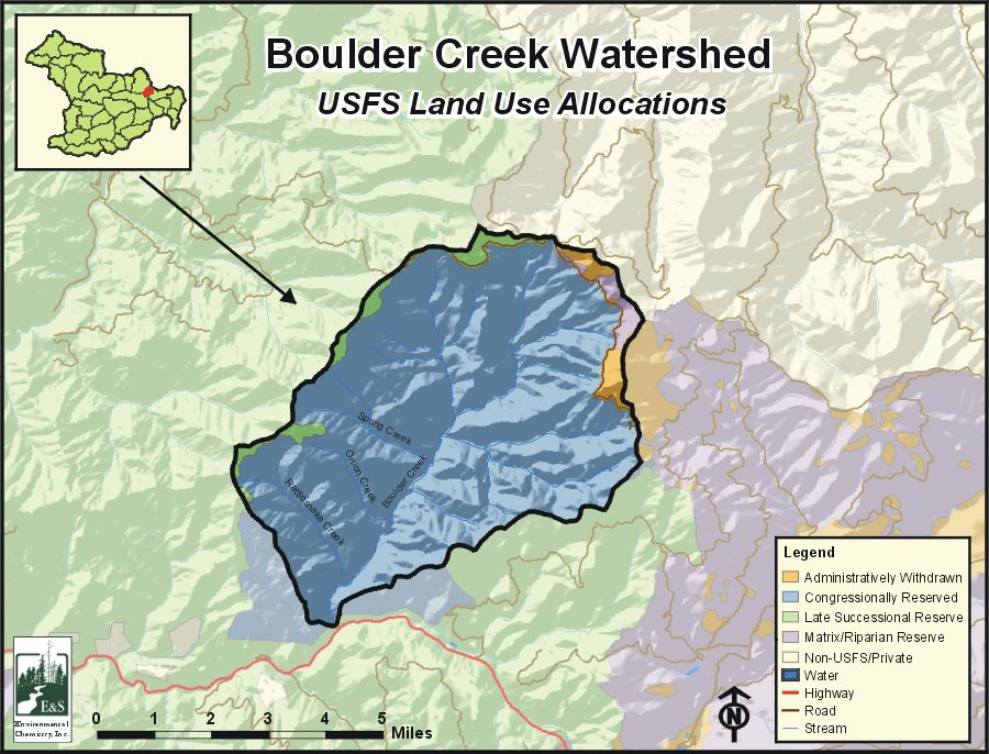 Boulder Creek Watershed oregonexplorer Oregon State University