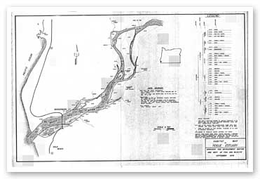 Habitat map of the Rogue Estuary