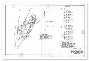 Habitat map of the Sand Lake Estuary
