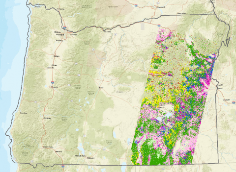 Image of Sage-Grouse Threat Based Framework Map